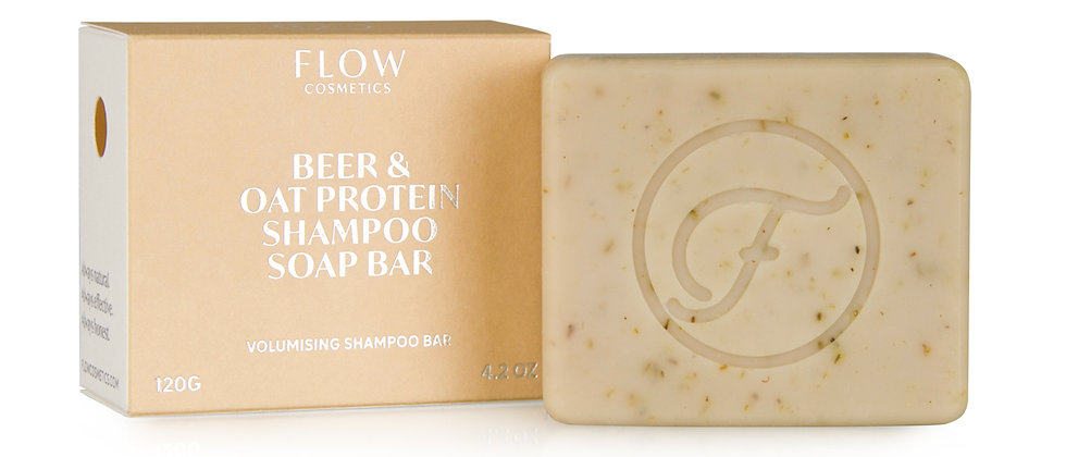 Koti Lifestyle Flow Beer & Oat Protein Shampoo Soap Bar