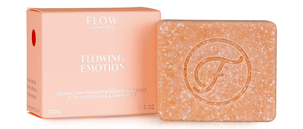 Koti Lifestyle Flow Flowing Emotion Aromatherapy Soap for Face, Body and Hair