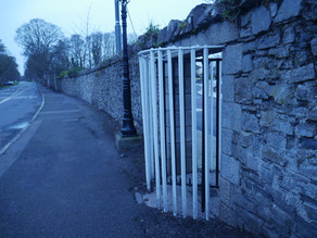 Works on North Road Wall, Phoenix Park