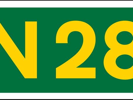 The N28 Cork Motorway