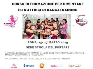 Corso di formazione per diventare istruttrice di kangatraining a Roma