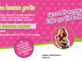 Kangatraining alla Manor di Lugano, lezione di prova gratis