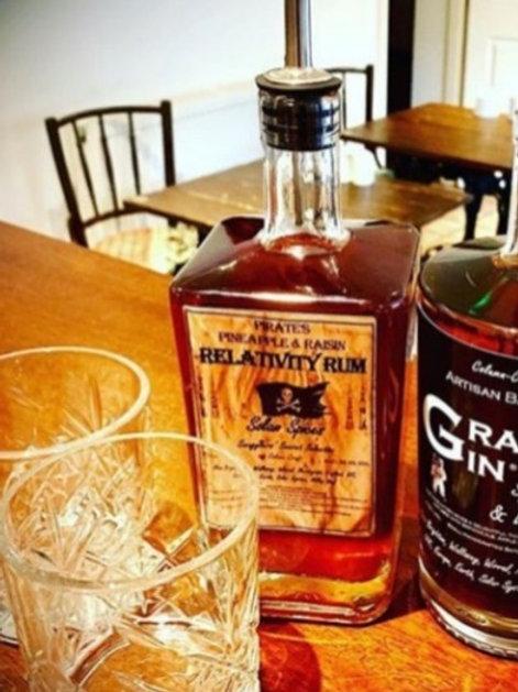Spiced Rum, Relativity Rum, Pineapple & Raisin