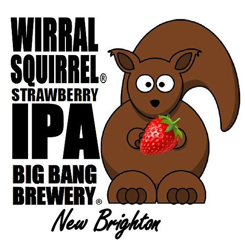 Wirral Squirrel, Strawberry IPA