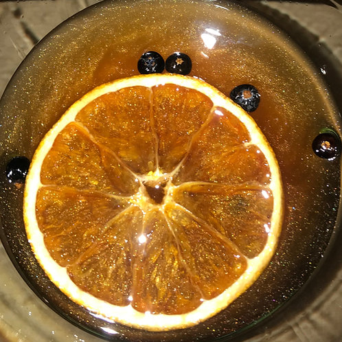 Gravity Gin, Ginger & Citrus, with glitter