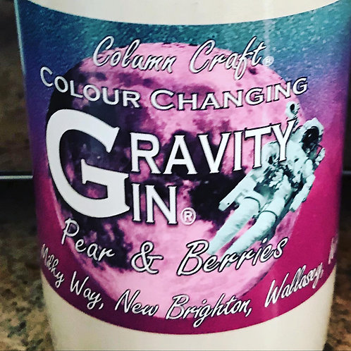 Gravity Gin, Pear & Berries, Colour Changing