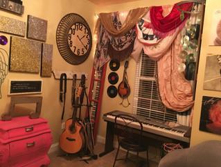 My Music Room Redo- Crazy Boho Fun