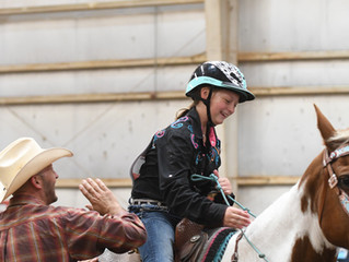 My 3 kids rodeo. This is a little bit of what that looks like...
