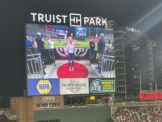 God Bless America- Atlanta Braves Goes a Little Viral