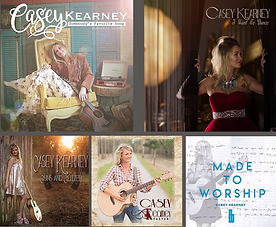 Casey Kearney Album Covers