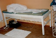A vibroacoustic bed from Olav Skille in early 1980s
