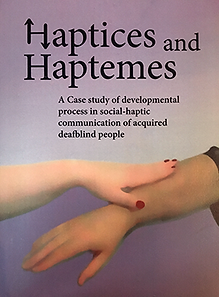 Front cover of Haptices and Haptemes Book