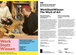WerkStattWissen – The Work of Art Material and Technology in Sources and Workshop Practice