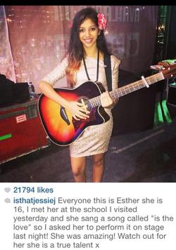Jessie J Instagram Post