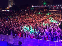 Amazing crowd at the RedFest DxB 201