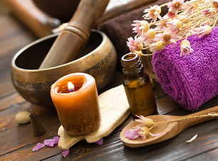 Holitic health oils and herbs used at Massage Life Studios