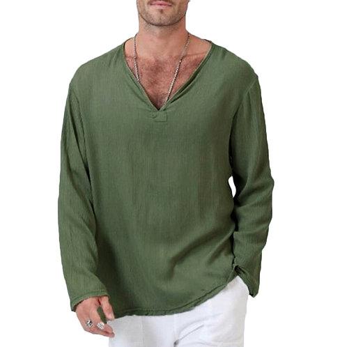 Cotton Hippie V-Neck Shirt