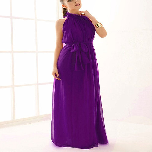Stand Up Collar  Solid Sleeveless Straight Dress