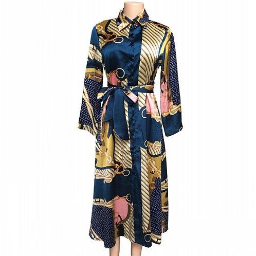 Ladies Print Dashiki Dress