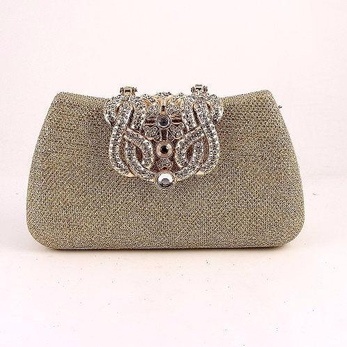 Jewelry Stone Clutch Fashion Purse
