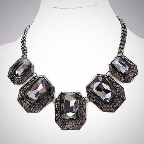 Rectangular Templar Jewel Necklace