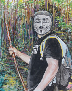 Self Portrait as Anonymous