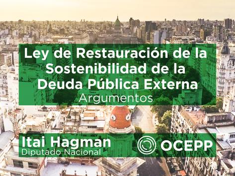 Ley de Restauración de la Sostenibilidad de la Deuda Pública Externa