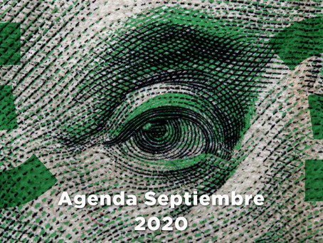 Agenda Económica Septiembre 2020