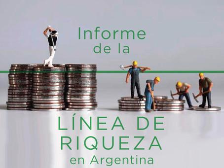 Línea de riqueza en la Argentina