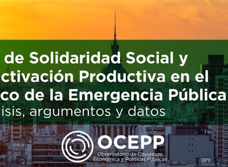 Ley de Solidaridad Social y Reactivación Productiva en el Marco de la Emergencia Pública
