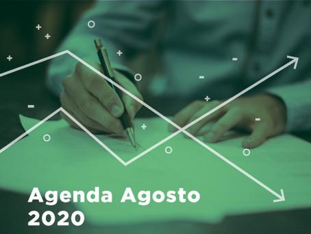 Agenda Económica Agosto 2020