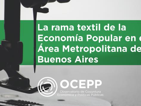 La rama textil de la Economía Popular en el Área Metropolitana de Buenos Aires