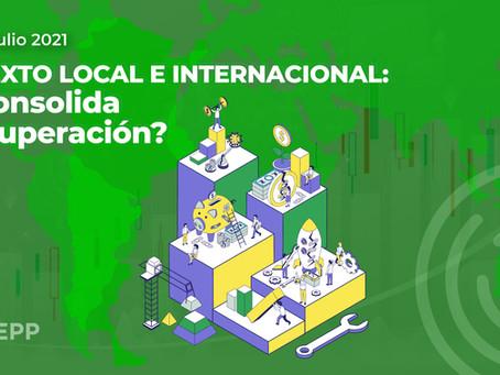 Contexto local e internacional: ¿se consolida la recuperación?