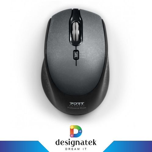 Port Wireless Silent Mouse