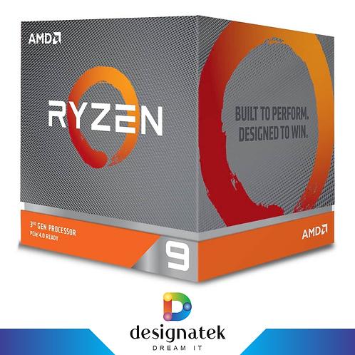 AMD Ryzen 9 3900X  12-Core 24-Thread Desktop Processor