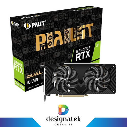 PALIT NVIDIA GEFORCE RTX 2060 SUPER DUAL 8GB
