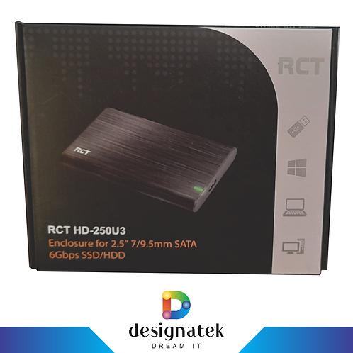 RCT HD-250U3 HDD SDD Enclosure