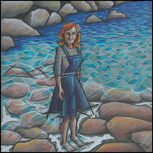 'Paddling In The Cove' By Ceri Staples