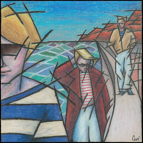 'Sea Walk' By Ceri Staples
