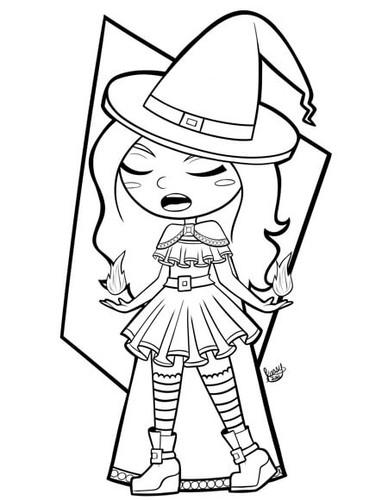 Light Magic Witch