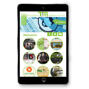 TIM fictional website Redesign