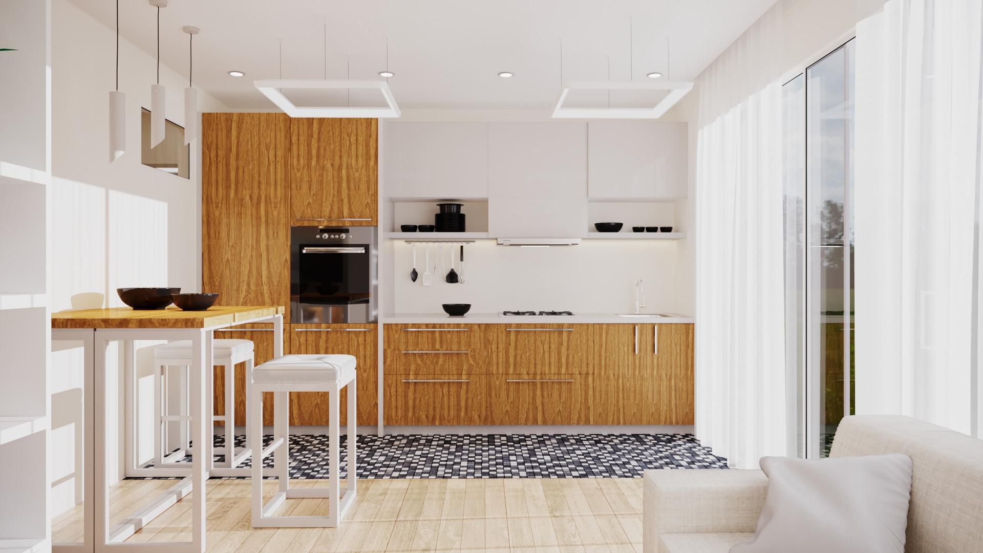 Garage Conversion Kitchen