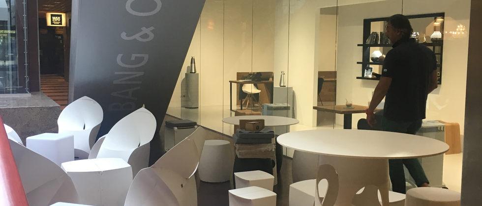 Bang&Olufsen PopUp Caffe