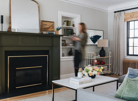 HOW TO USE DARK + SATURATED PAINT COLORS