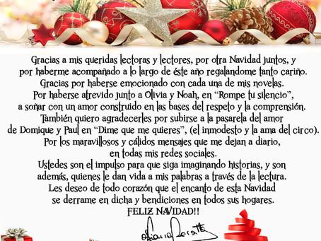 Mensaje de Navidad!!