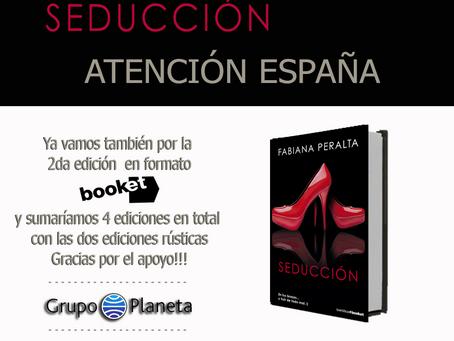 Nueva reimpresión de En tus brazos...y huir de todo mal I Seducción en España