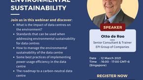 WEBINAR: How To Manage The Data Centre Environmental Sustainability