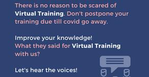 Virtual Training Testimonial!