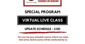 Update Training Virtual Live Class - COD