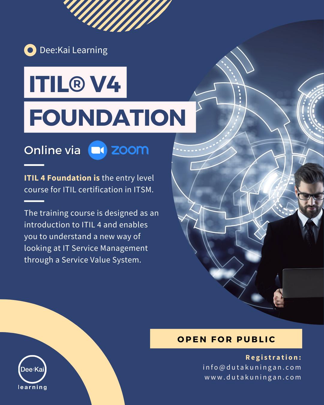 ITIL® v4 FOUNDATION
